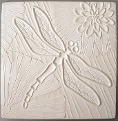 DT31 Dragonfly Frit Texture Tile