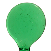 T=Effetre Rod Light Emerald 104 coe 5-6mm