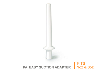 XIEM, PRECISION APPLICATOR, SUCTION ADAPTER FOR 1 OR 3OZ