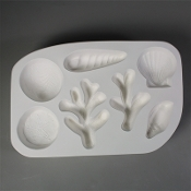 LF150 Shells and Coral Frit Cast Mold