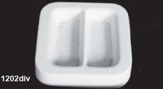 Mini Two Division Tray 5.3''x5.1''