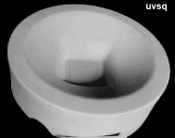 Uvongo Round Bowl Square Foot 17.7''R