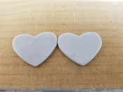 Wasser Fusible (1-1/4'') 10 White Hearts 90coe