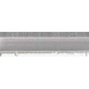 F-7229-Effetre Rod Grey/Crystal 104 coe 5-6mm
