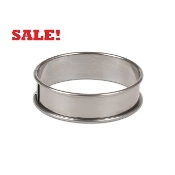 "Stainless Steel  6.5''x 1.75""' Casting Ring"
