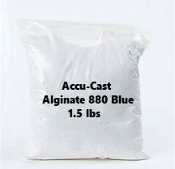 Accu-Cast Alginate 880 Blue 1.5 lbs