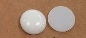 Opalescent 90coe 1''x3mm Circle White