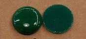 Opalescent 90coe 1''x3mm Circle Green