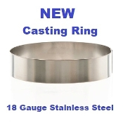 Casting Ring Stainless Steel 2'' High